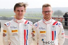 Team mates William Phillips and Jan Jonck